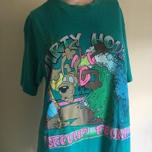 vintage party hound shirt